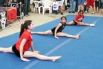Teen Fest gymnastics demonstration